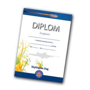 Bilde av Diplomer Skytingens Dag